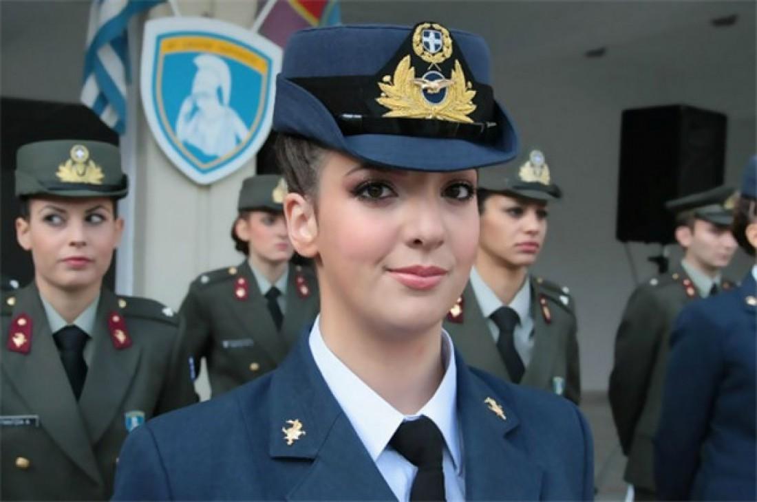 В Греции к женщинам в армии относятся лояльно