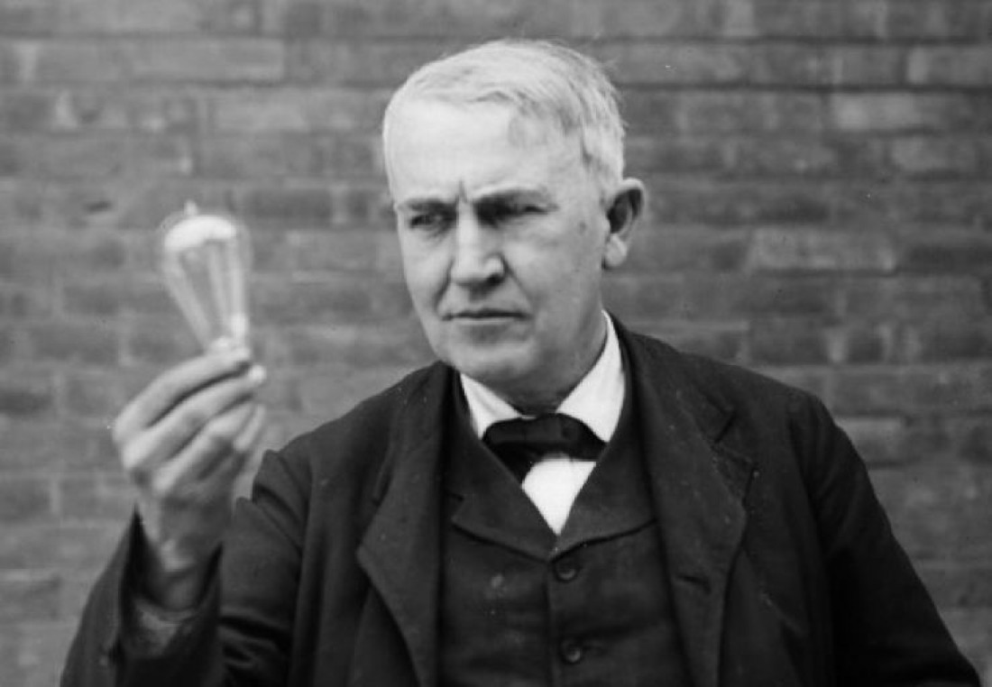 Томас Эдисон и его лампочка