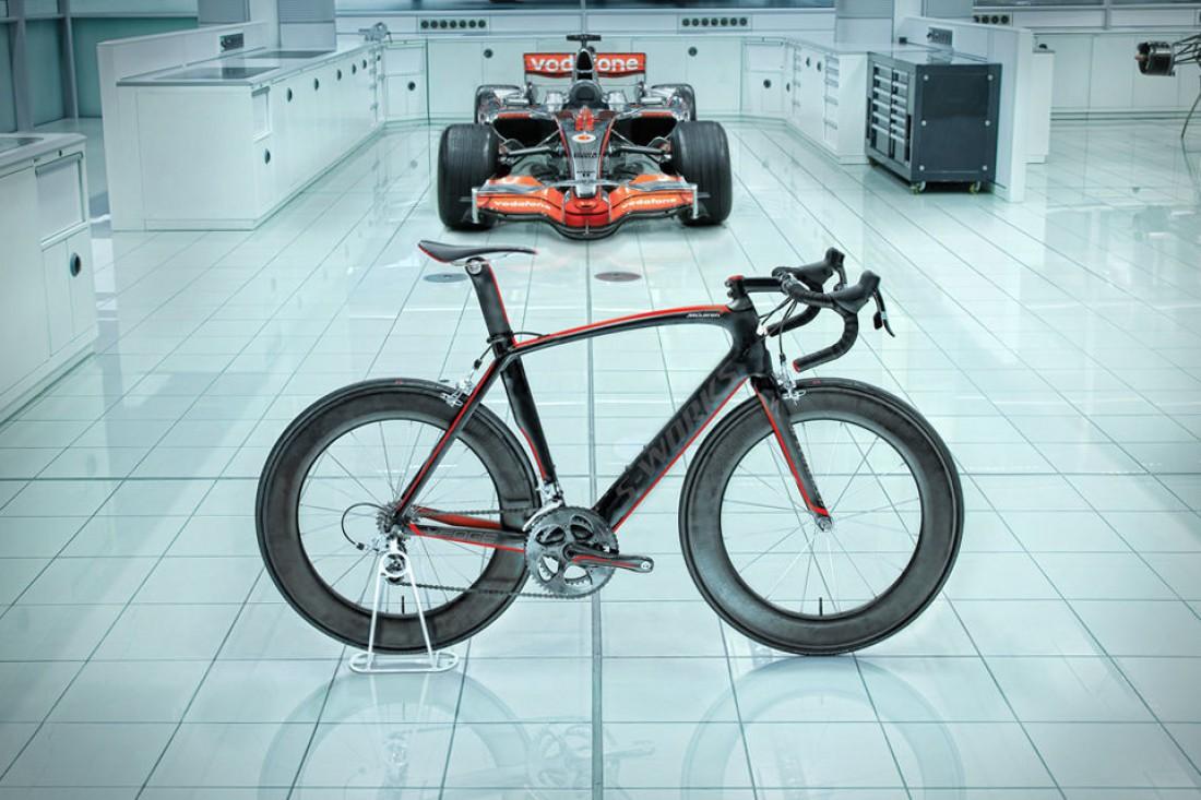 Specialized McLaren S-Works Venge. Велосипед из-под пера спецов McLaren