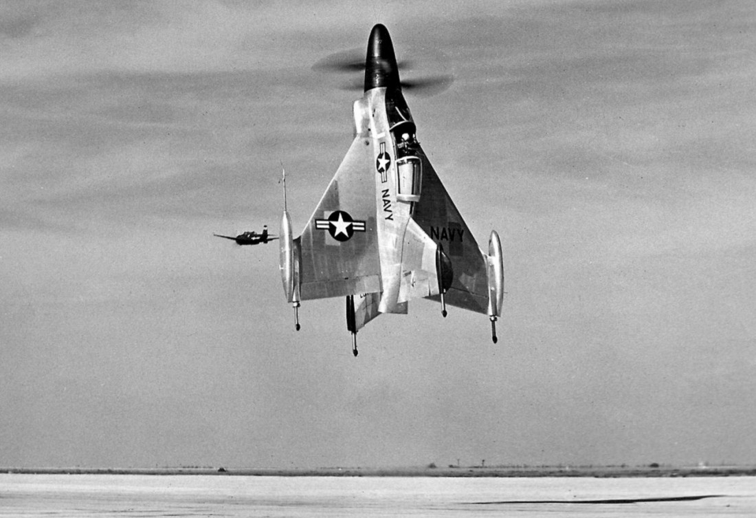 Convair XFY-1 Pogo —