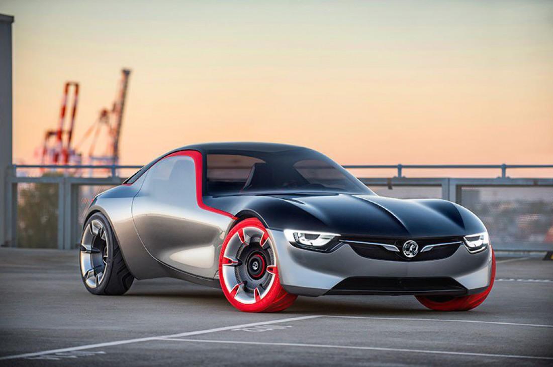 Opel GT Concept 2016 радует необычным и довольно стильным дизайном