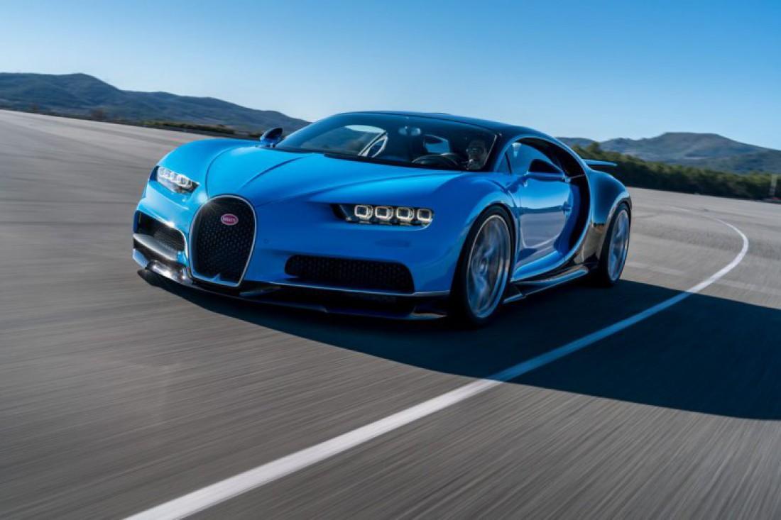 Силовая установка Bugatti Chiron — 8-литровый W16