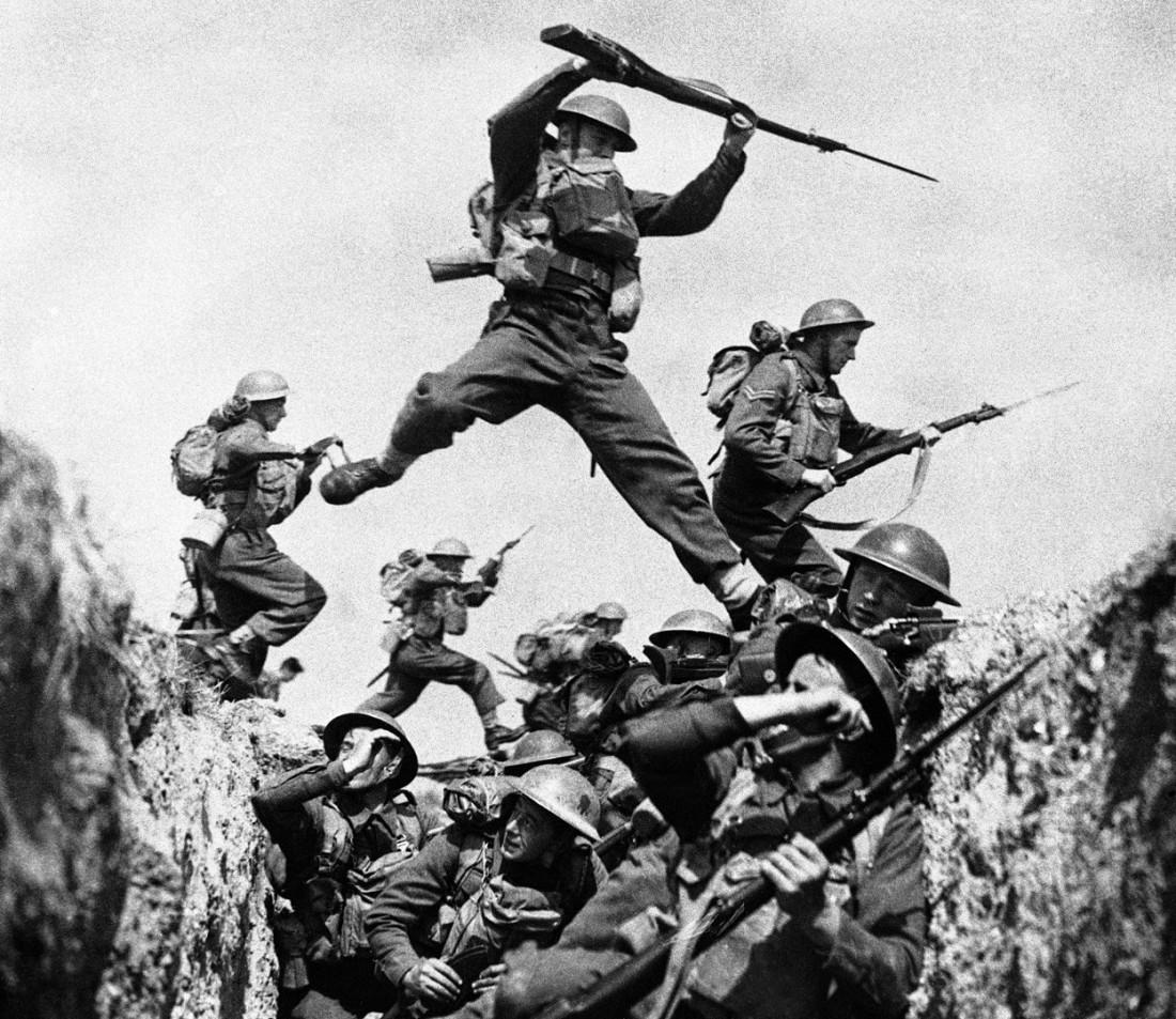 Вторая мировая и ее солдаты. No pasaran!
