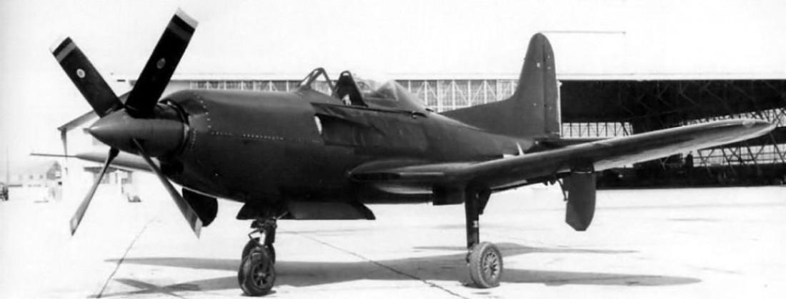 Несчастный Ryan XF2R-1 Dark Shark, замороженный из-за