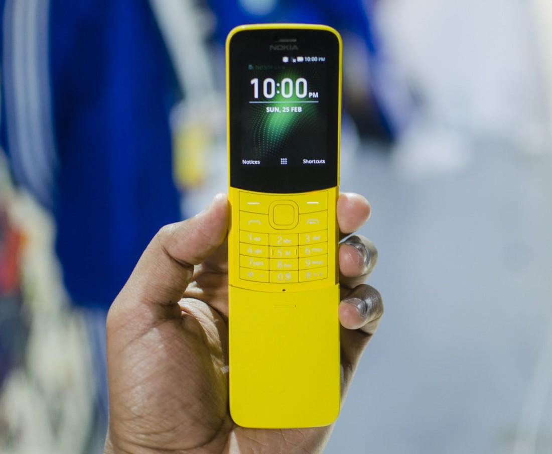 Nokia 8110 4G. С поддержкой LTE, Google Assistant и мессенджеров