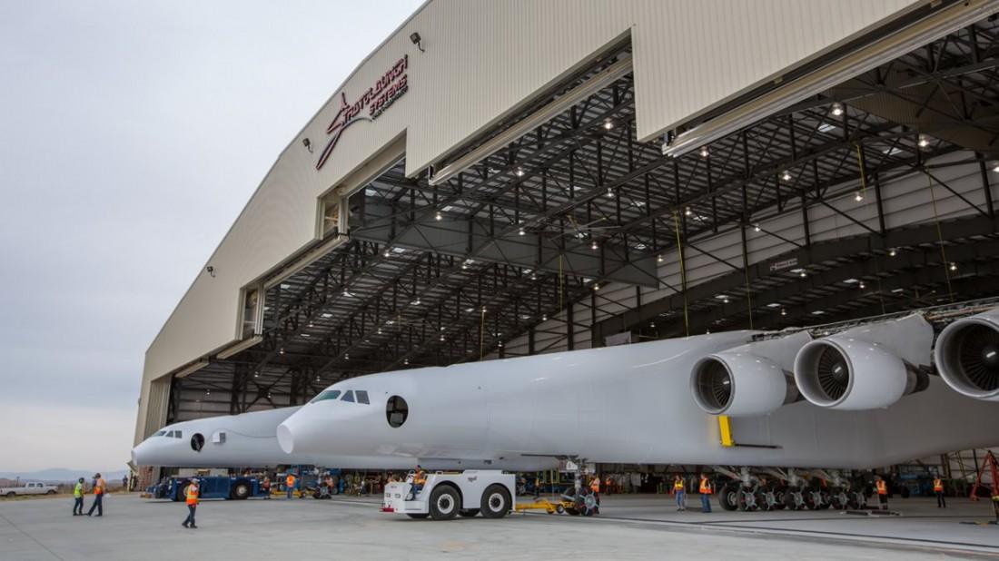 Stratolaunch — новоиспеченный самый большой самолет в мире