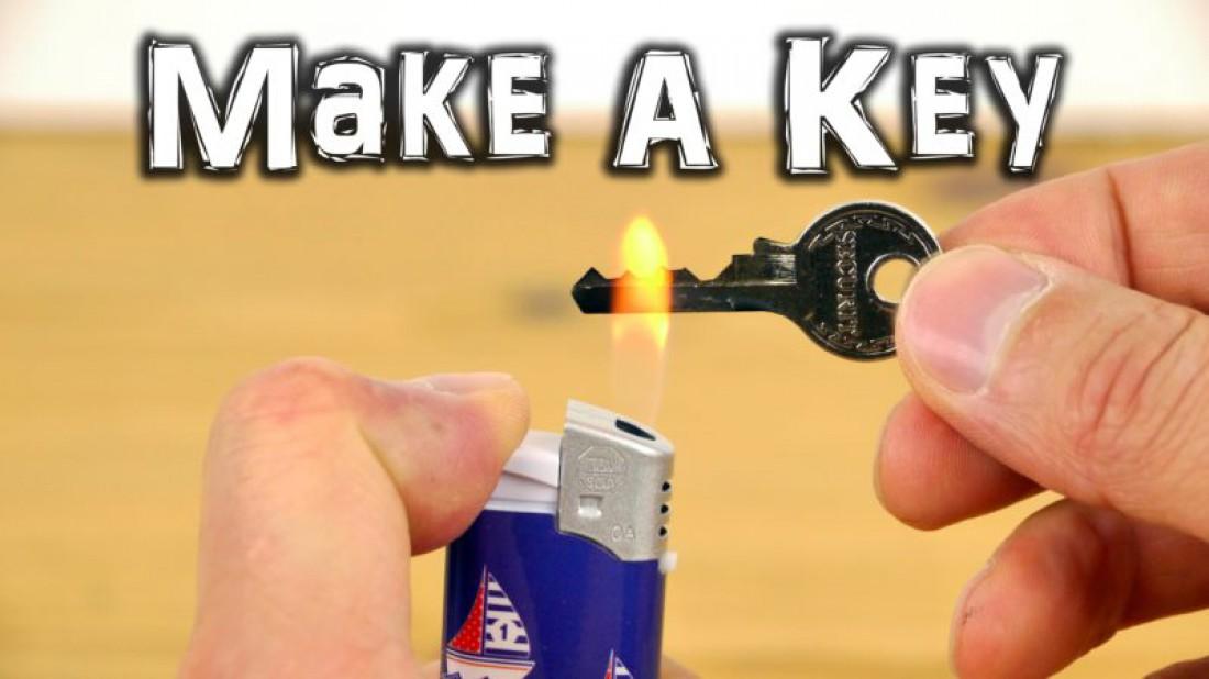 Ключ, зажигалка, и, вероятно, пальцы DaveHax