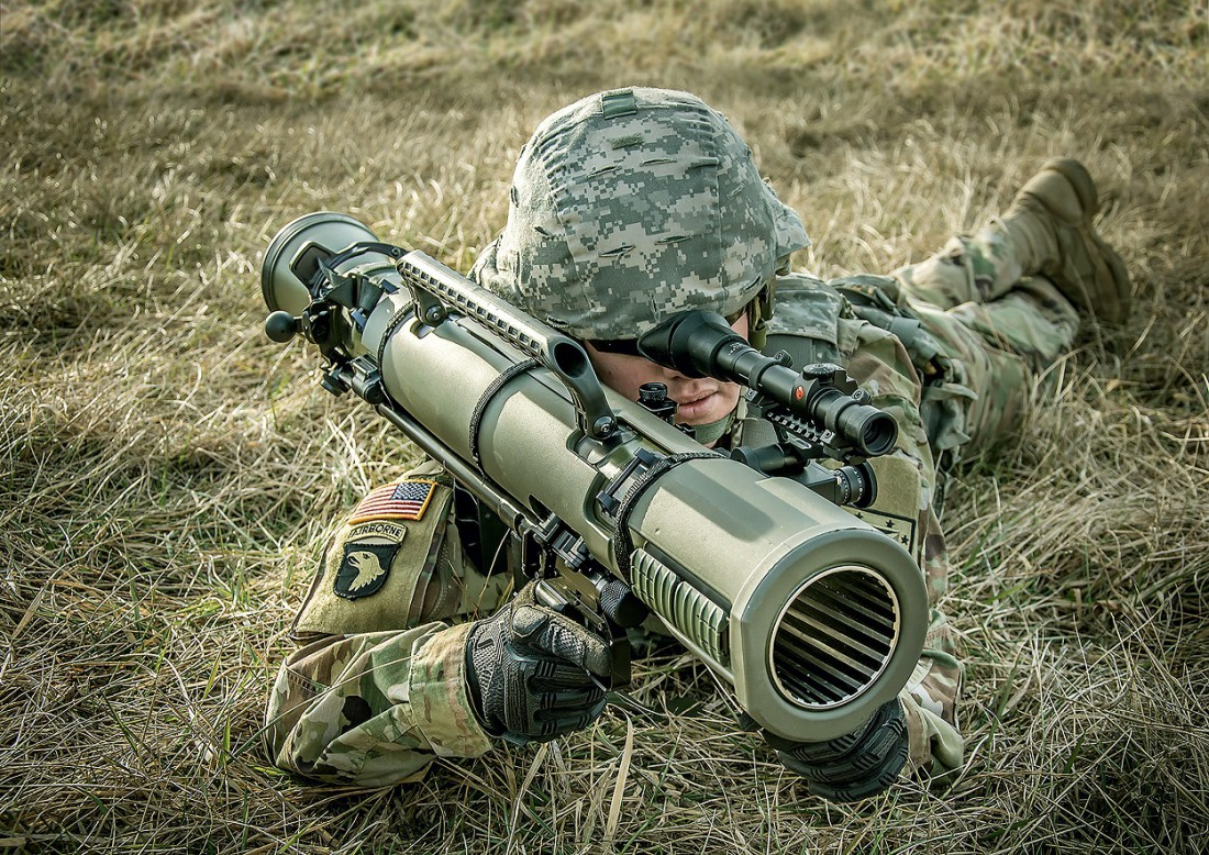 Новейшая модификация M3E1 гранатомета Carl Gustaf