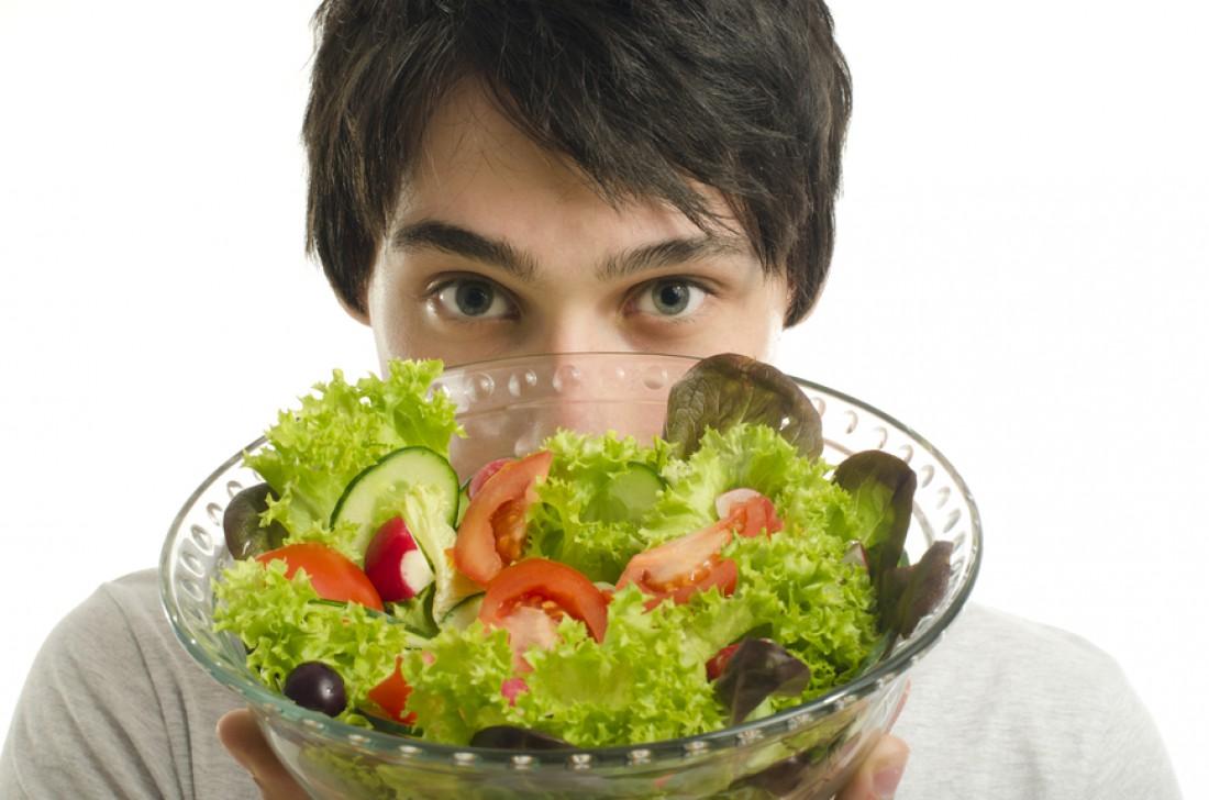 Чтобы убрать жир на животе — ешь здоровую пищу