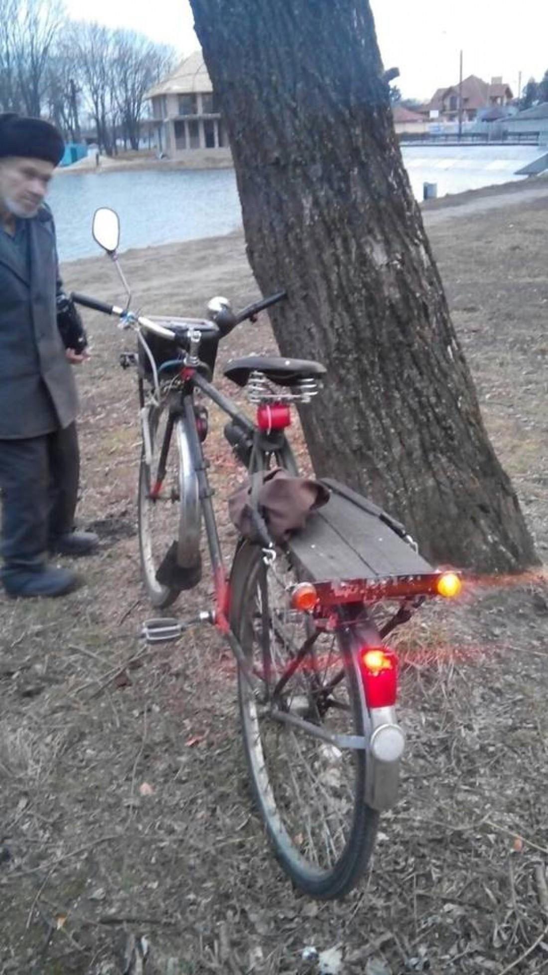 Велосипедист и его
