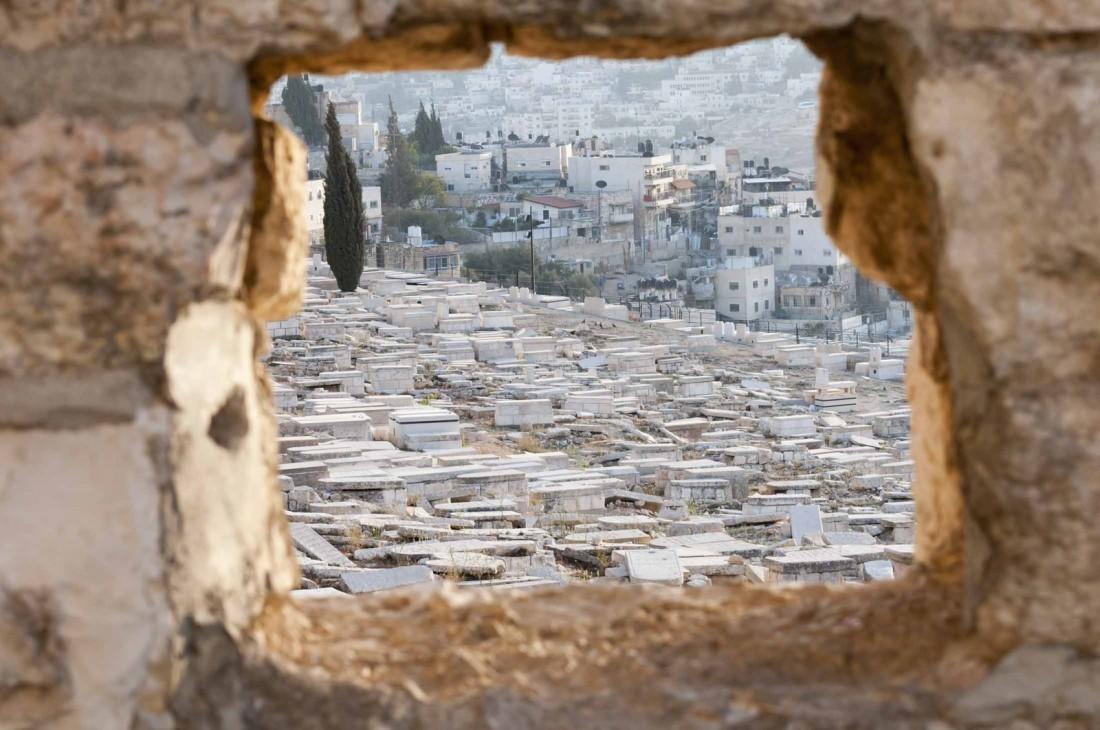 Елеонская гора, Иерусалим, Израиль. Место, где начнется зомби-апокалипсис