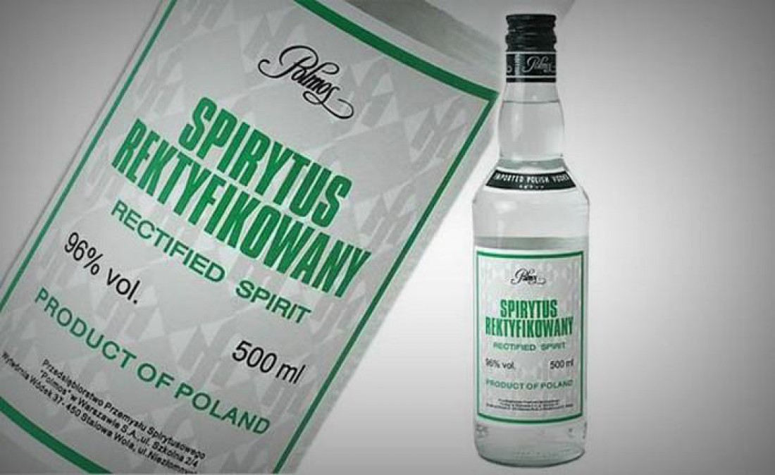 Spirytus Rektyfikowany — удар под дых