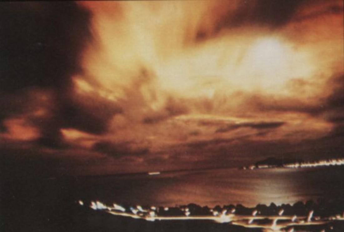 Фото одной из взорванных бомб (в рамках проекта Starfish Prime)