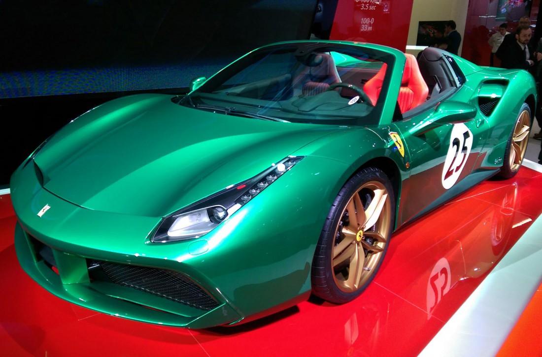 """2016 Ferrari 488 Spider """"Green Jewel"""""""