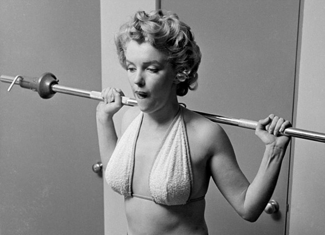 Знала даже Мэрилин Монро: умеренный спорт здоровью не навредит