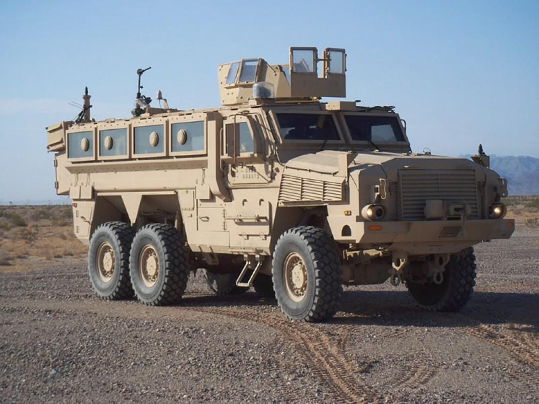 Британский полноприводный бронеавтомобиль RG-33