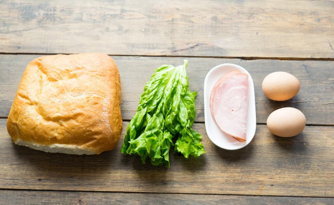 Сэндвич для тех, у кого нет времени на ланч