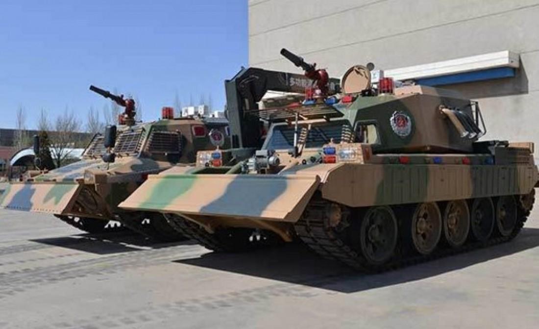 Китайский пожарный танк компании China North Industries Group Corp
