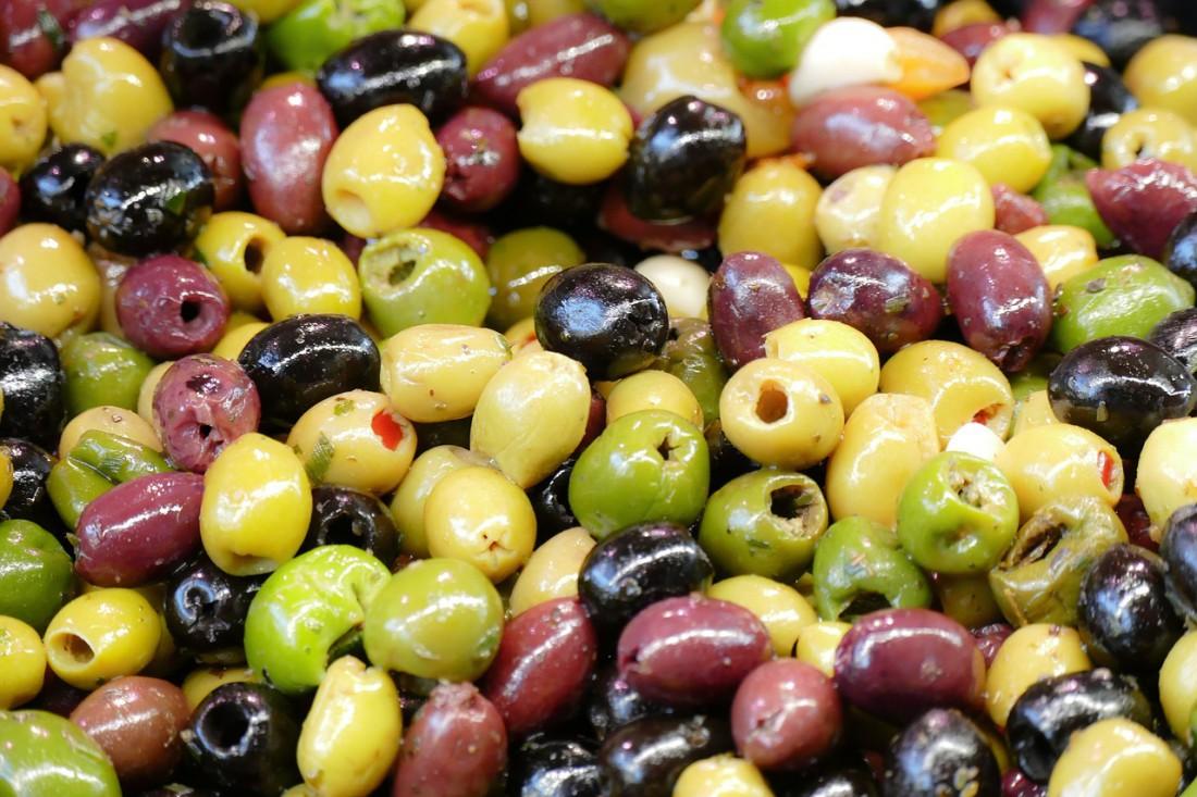 Оливки можно и без мартини