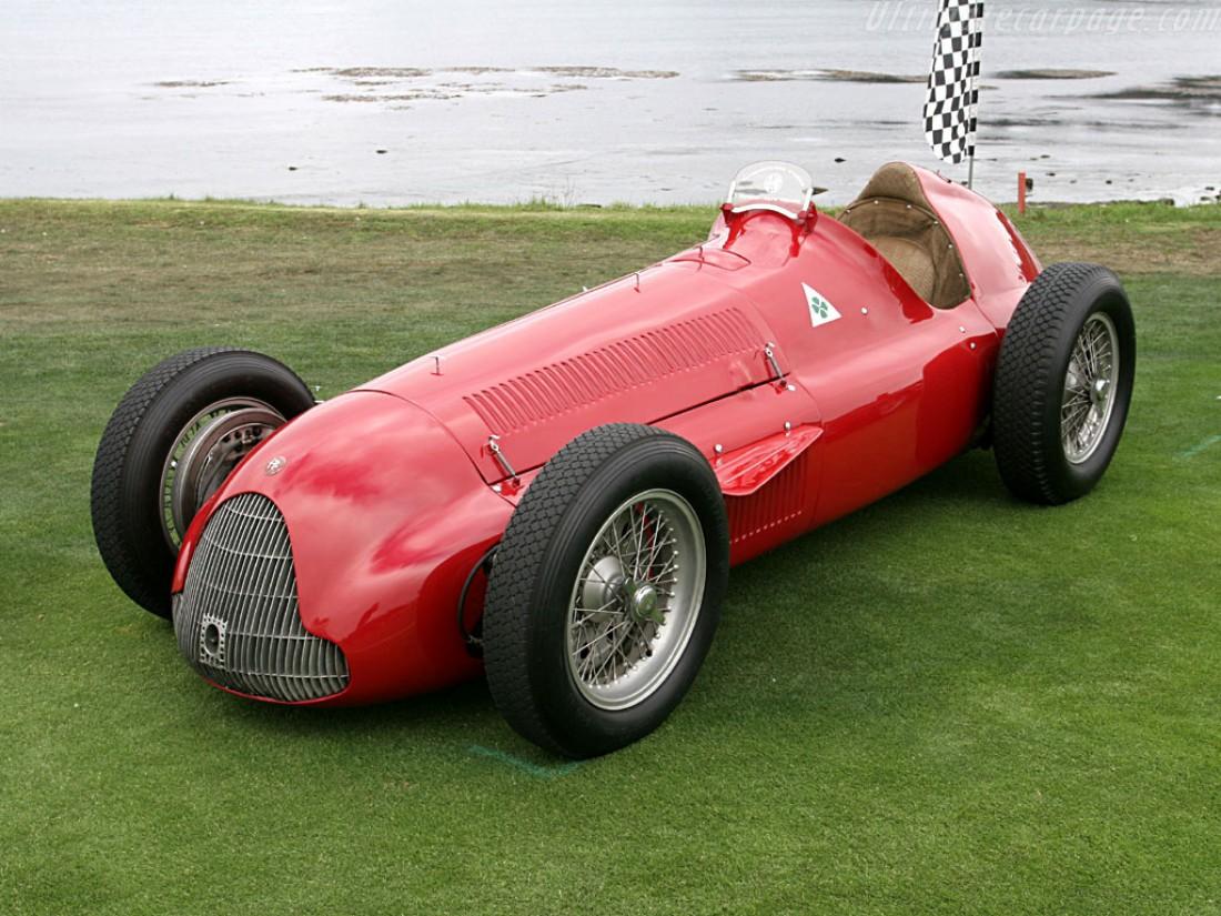 Alfa 158. Разработана еще в 1938-м