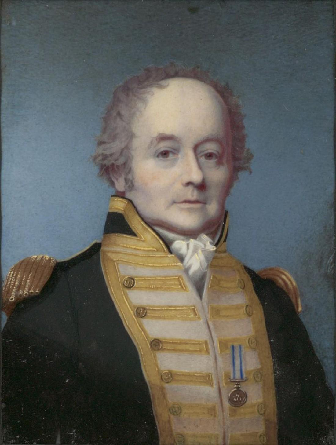 Уильям Блай — вице-адмирал Королевского флота Великобритании