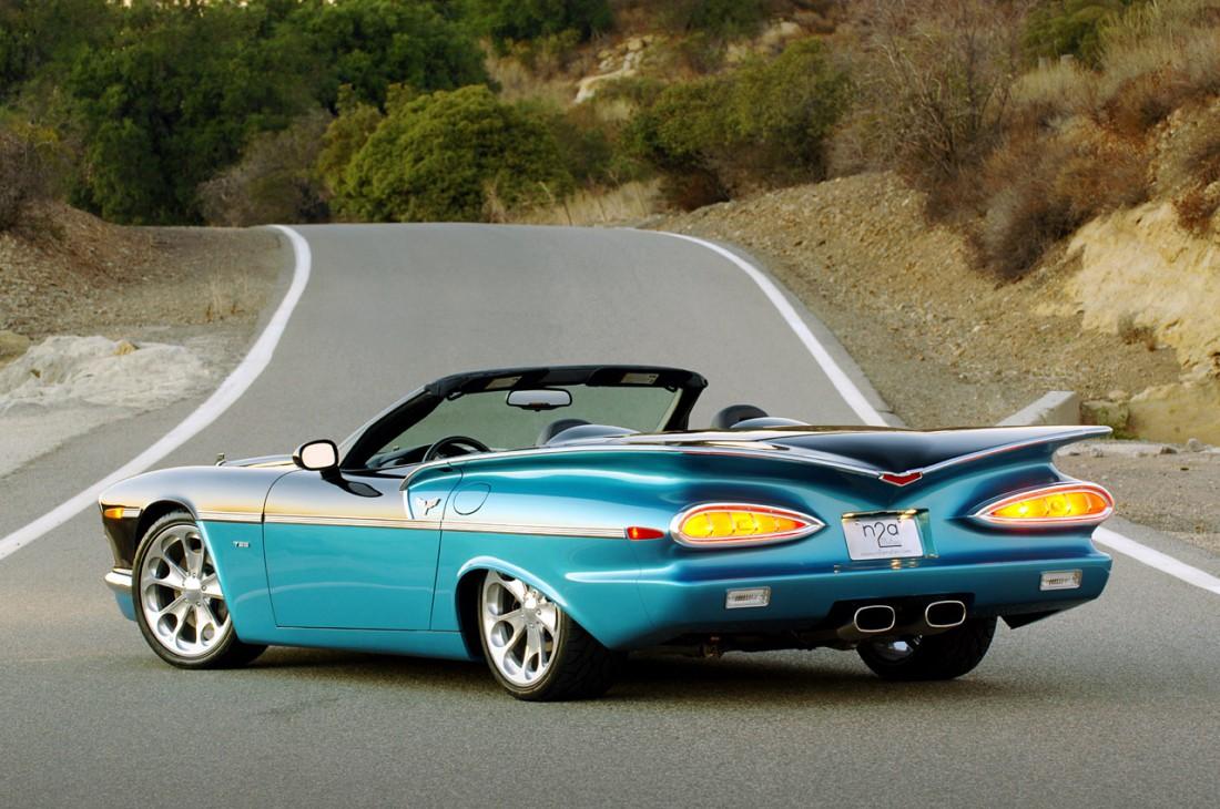 n2a Motors 789 сварен из разных частей разных Chevrolet