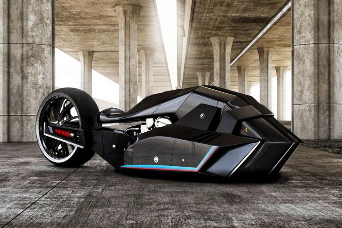 BMW Titan — футуристический байк из-под пера турецкого дизайнера
