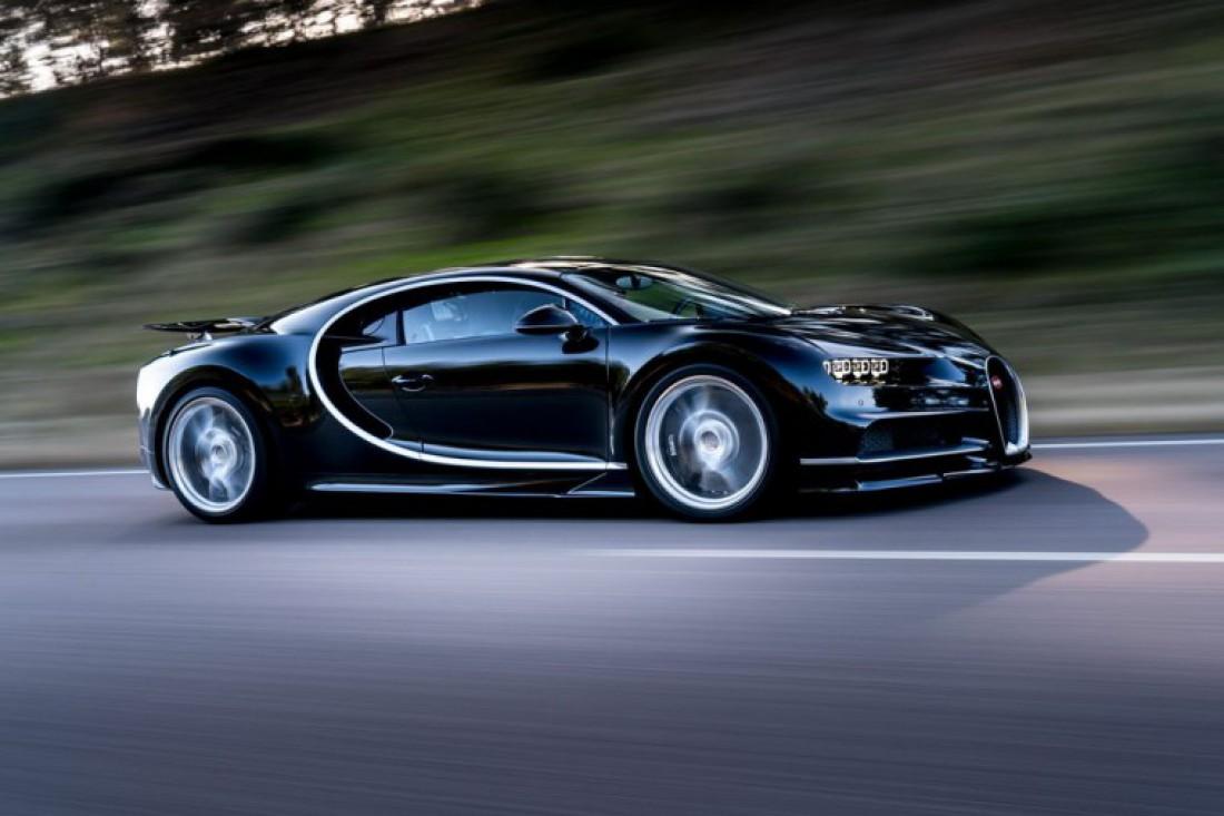 380 км/ч — нормальная скорость Bugatti Chiron