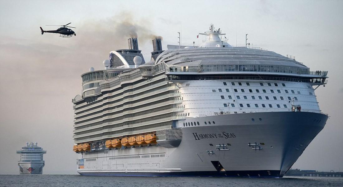 Harmony of the Seas принадлежит американо-норвежскому предприятию Royal Caribbean Cruises Ltd.
