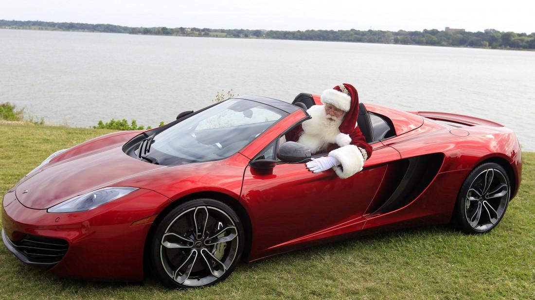 Каждому читателю MPort на Новый год по такому авто. От Санты