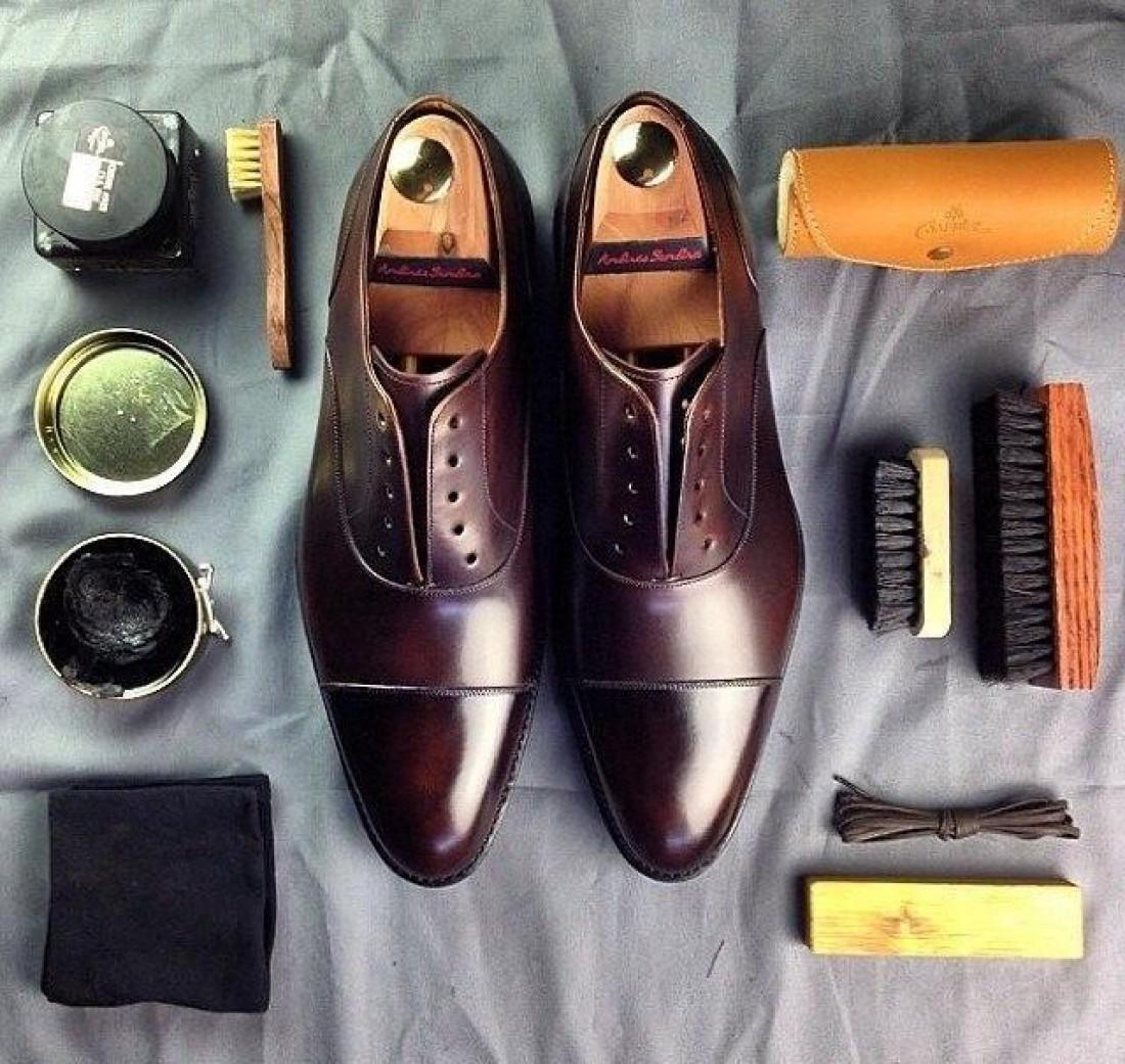 Твои туфли — твое лицо. Содержи их в идеальном состоянии