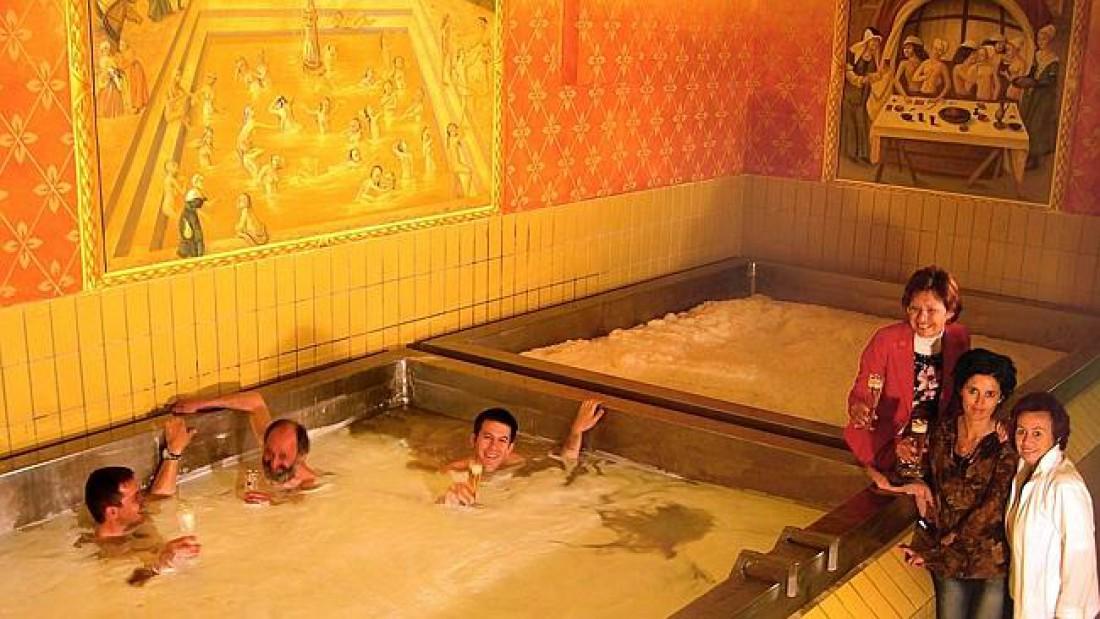 Starkenberger — место, где можно принять пивную ванну