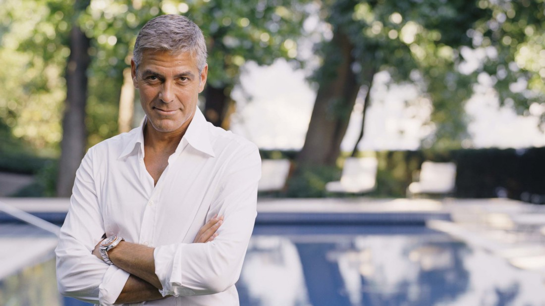 Бери пример с Джорджа Клуни. Голливудский актер всегда одевается с иголочки