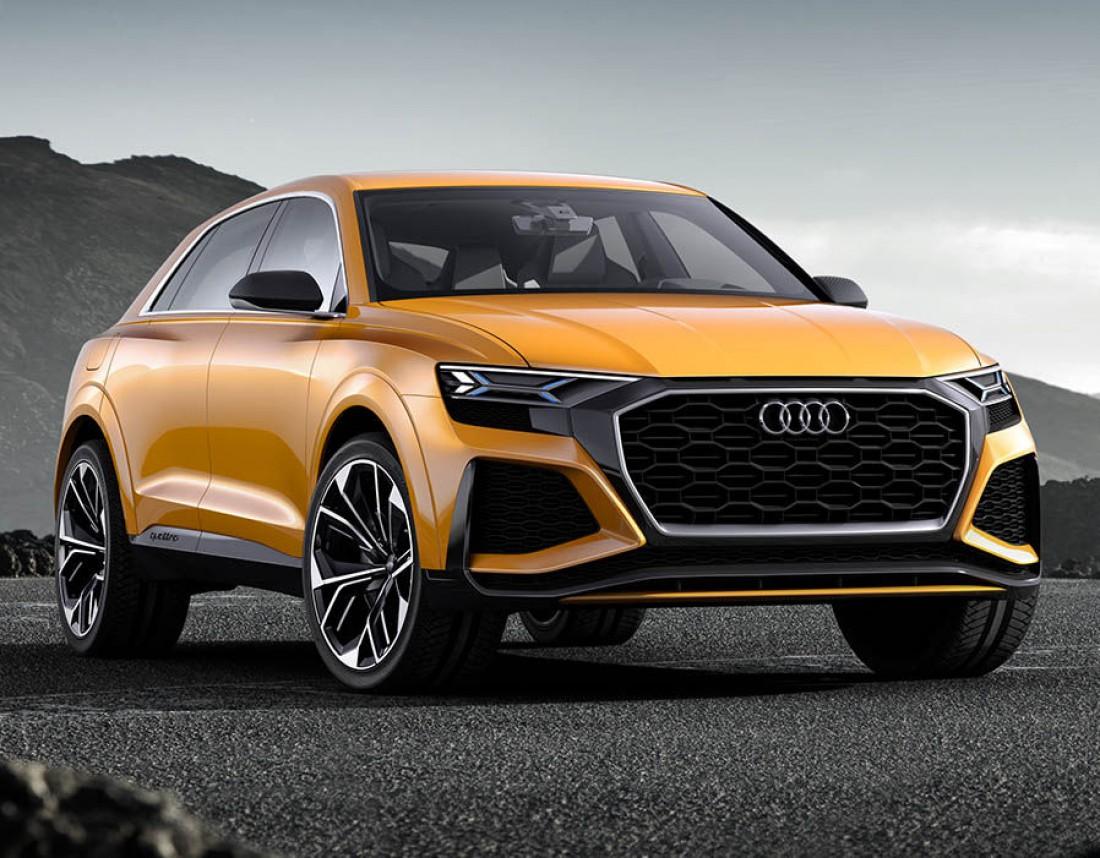 Audi Q8 — флагманский кроссовер от немецкого автопроизводителя