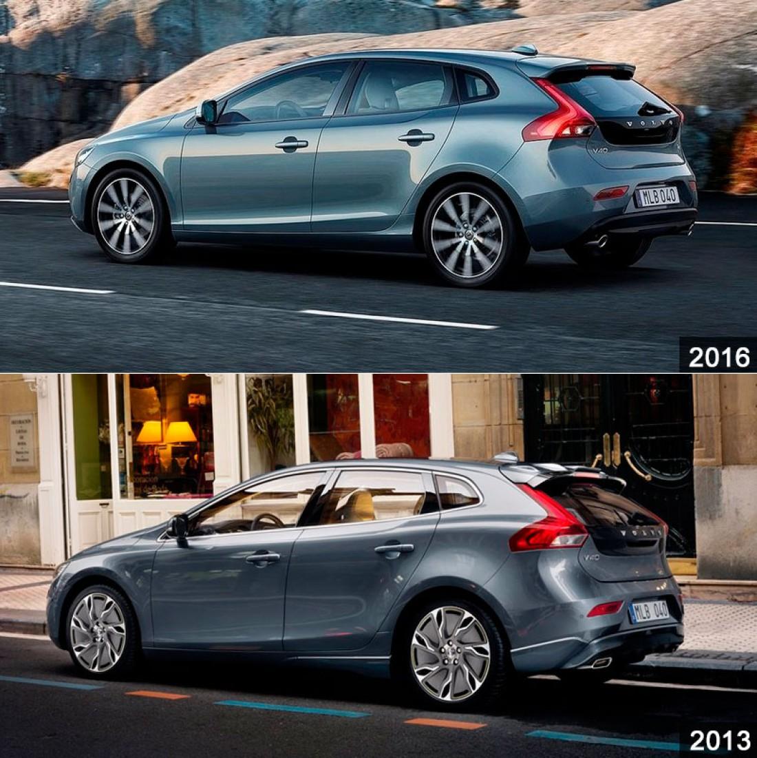 Сравнение моделей V40