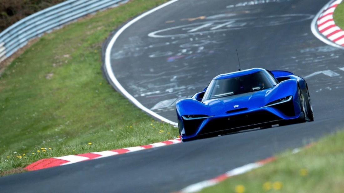 NIO EP9: новый самый быстрый китайский автомобиль в мире