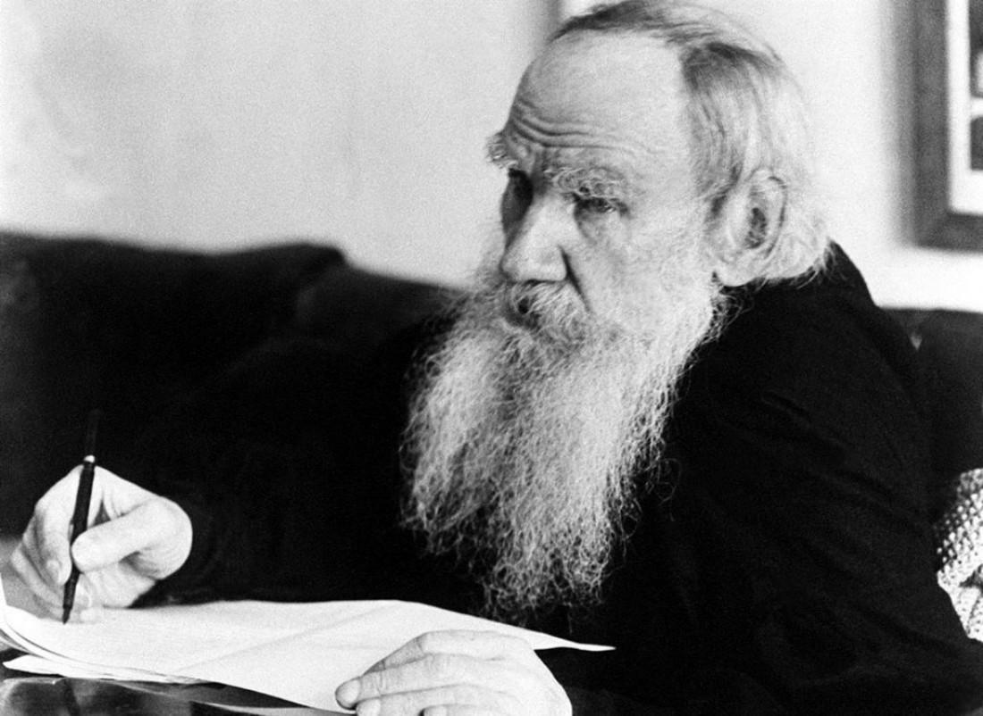 Ум и желание учиться к Толстому пришло с возрастом