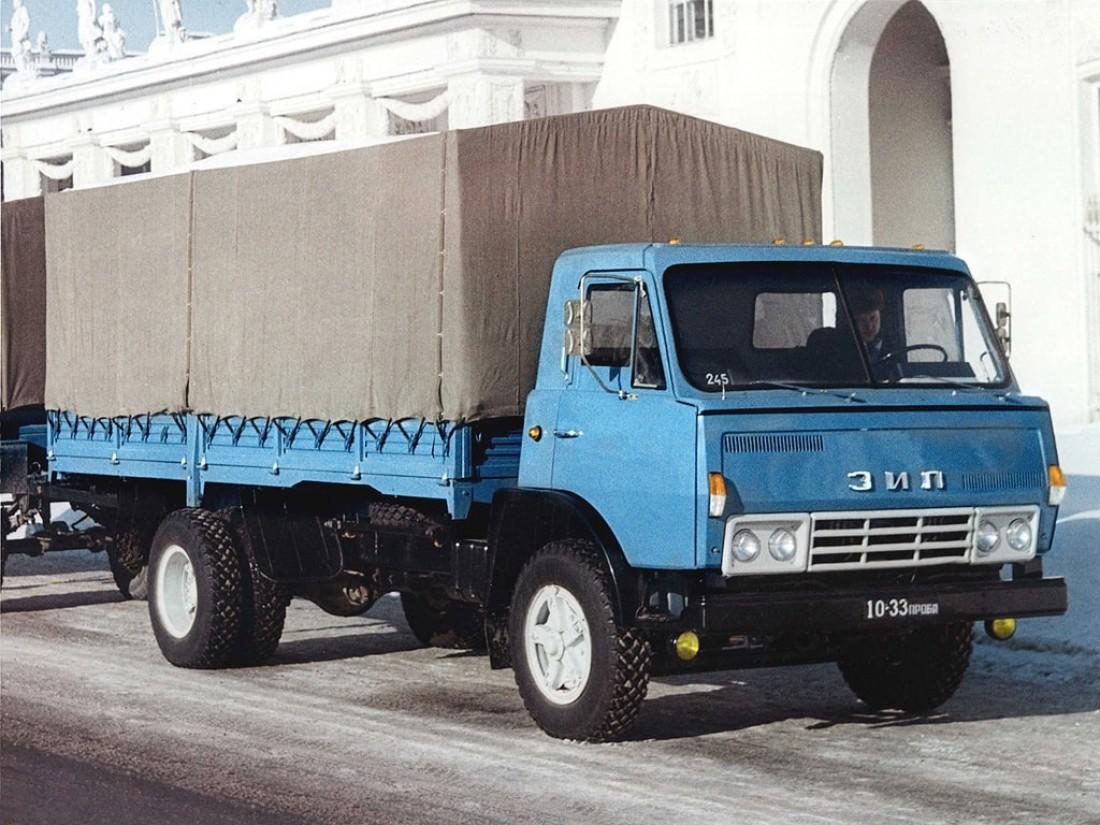 """ЗИЛ 3Э169А (1969). Прототип """"КамАЗ'а"""""""