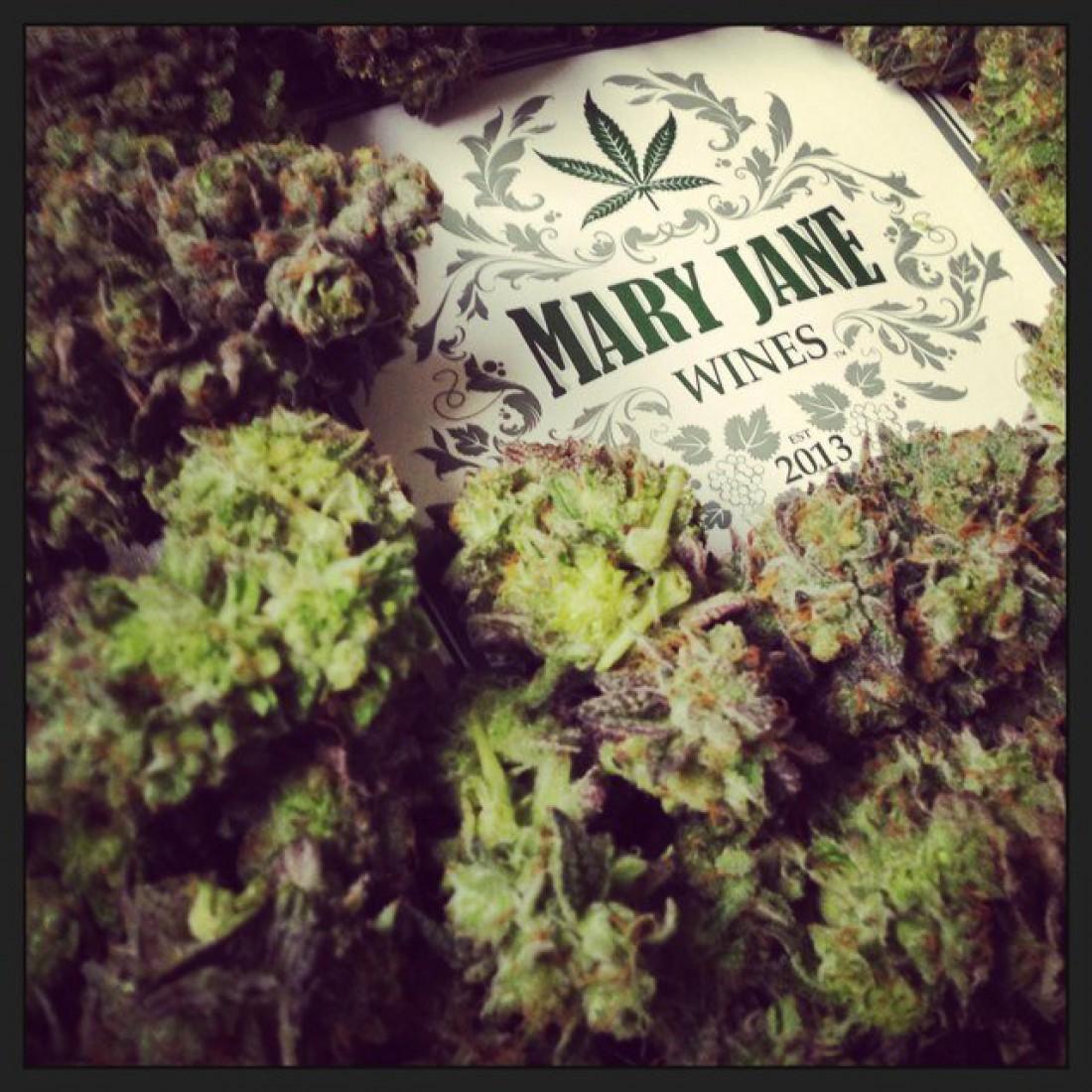 Вино Mary Jane не вызывает помутнения рассудка