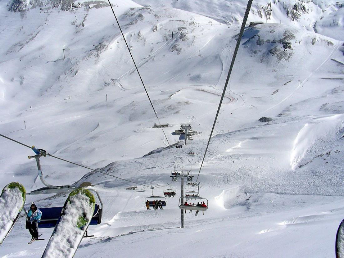 Leissieres Express. Французский горно-лыжный подъемник, который сравнивают с американскими горками