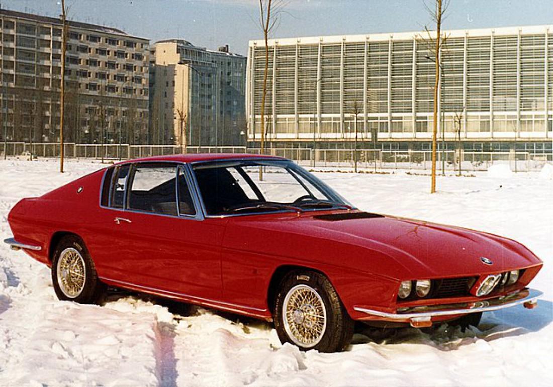 BMW 2000 ti (1968) — купешка, построенная на базе Monteverdi 2000 GTI