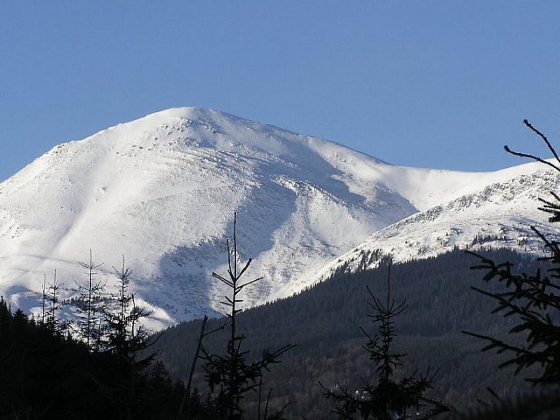 Петрос зимой. Отличное место для катания на сноуборде