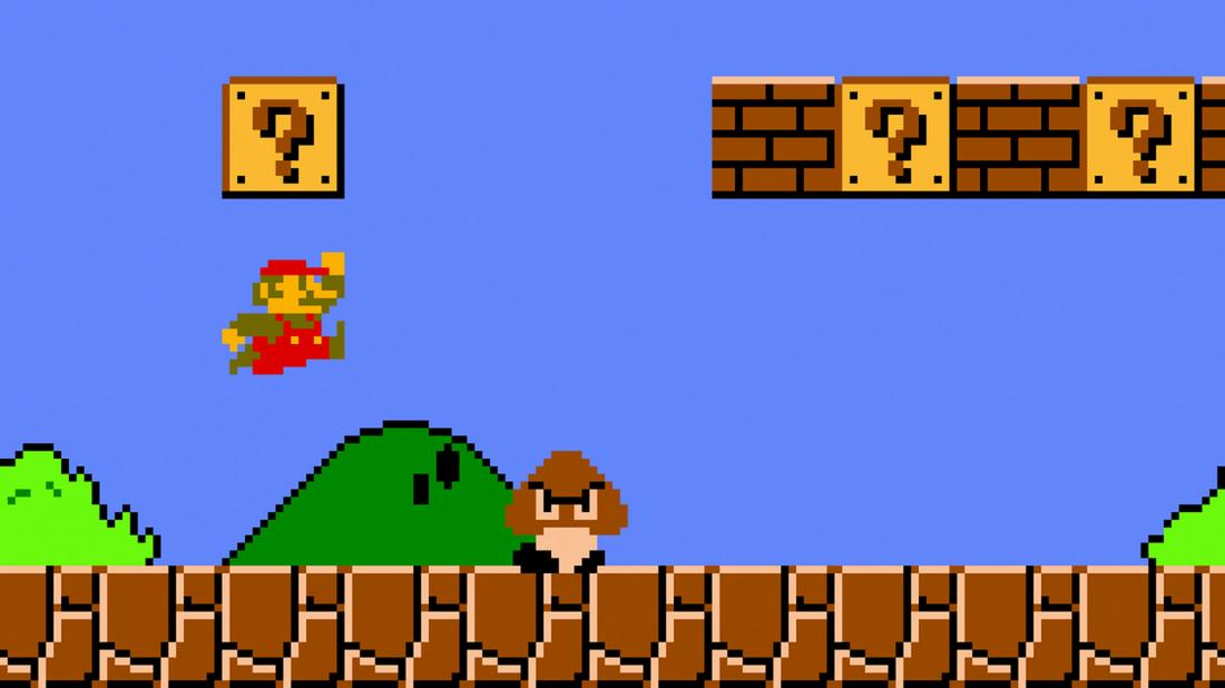 Легендарная игра Super Mario Bros.