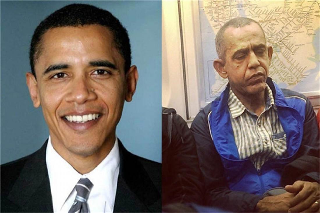 Обама. Вздремнул, пока в метро