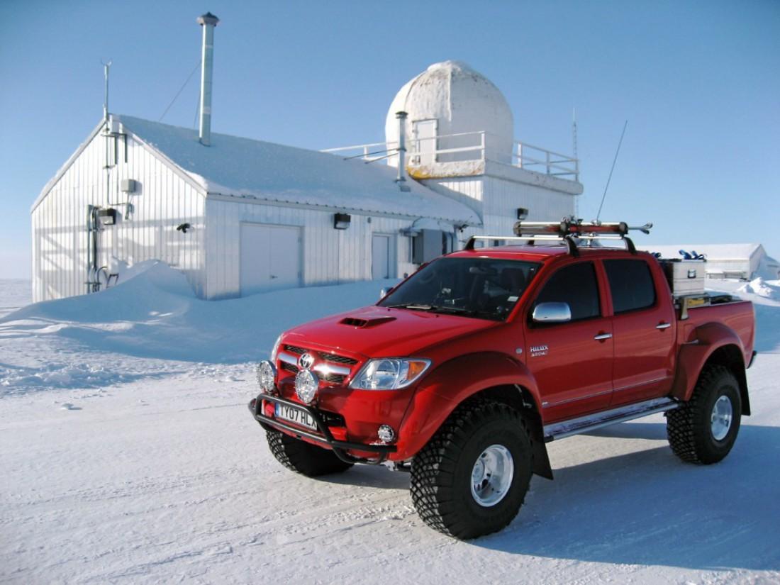 Toyota Hilux — один из лучших автомобилей для любителей бездорожья