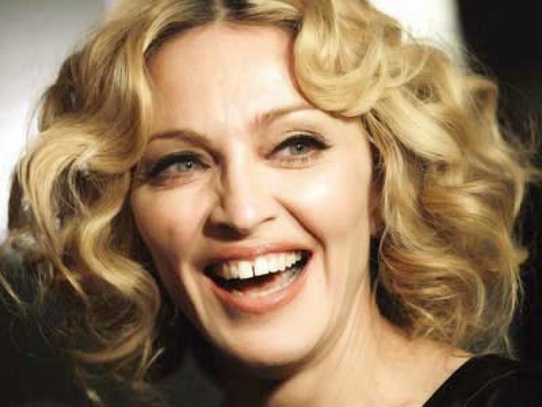 Мадонна. Любит свои зубы и не собирается их менять