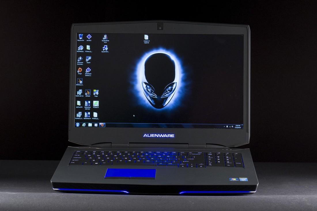 Мощнейший игровой ноутбук Alienware