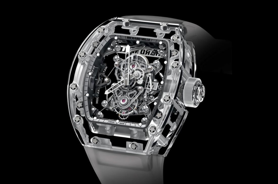Richard Mille Tourbillon RM 56-02 Sapphire — $2 миллиона