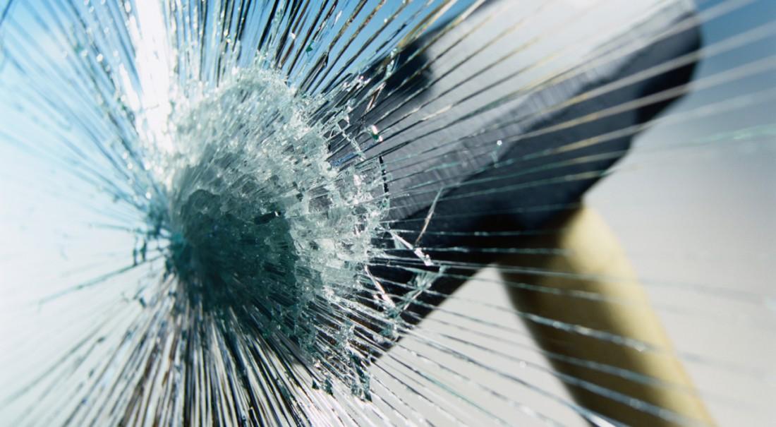 Бронированное стекло не даст злоумышленникам нанести тебе увечья