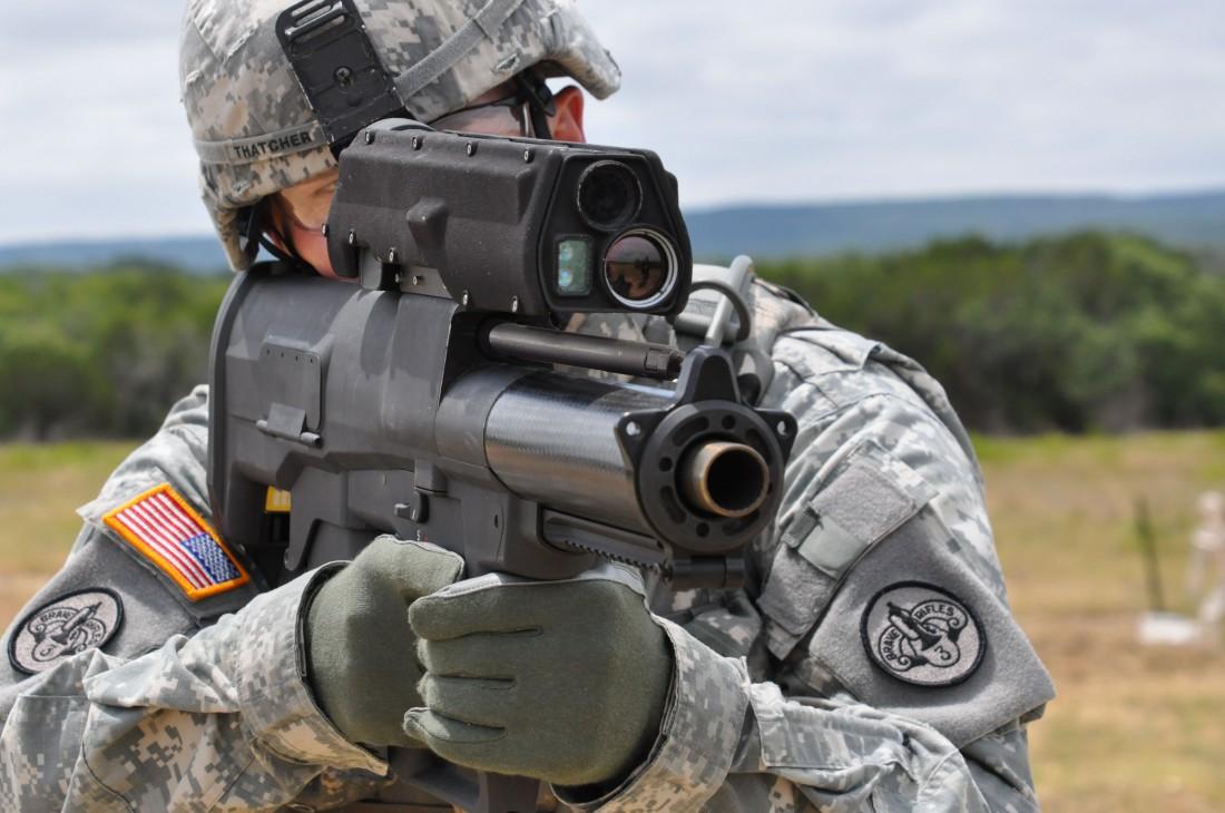 XM25 CDTE — новейший американский гранатомет дистанционного подрыва